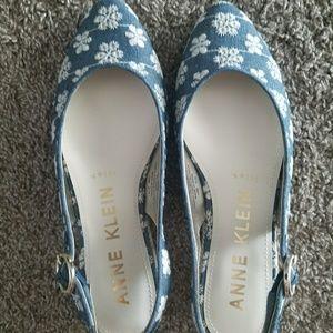 Summer Sling-back Denim Sandals